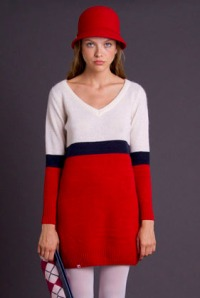 Dress Retro Tricolor