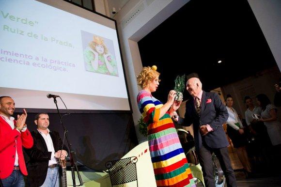 Dedal Verde para Agatha Ruiz de la Prada