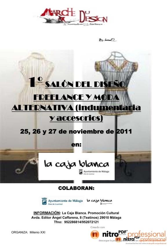 Cartel Salón Creadores Freelance Málaga