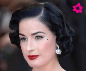 Dita Von Teese Red Lips