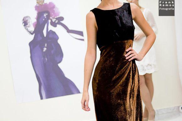 Vestido de terciople de Rosa Rodriguez Vintage