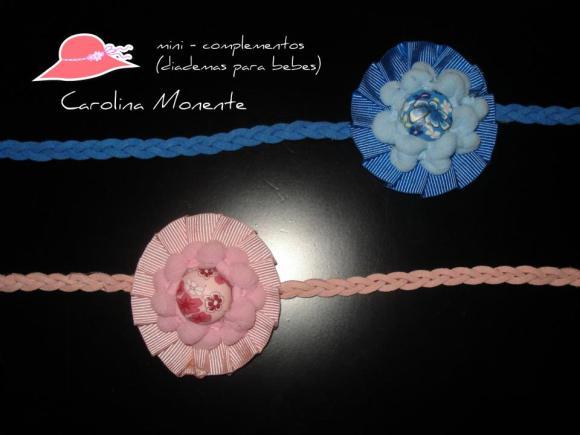 Diademas de bebé de Carolina Monente Complementos
