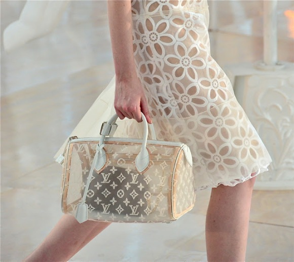 Speedy monogram transparente Louis Vuitton
